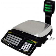 TOPMAX-SS 30/2 - Balança em rede, Wi-FI, impressor e no break incorporados.