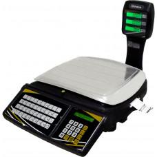 TOPMAX-SS PLUS 30/2 – Balança em rede, ethernet, impressor e no break incorporados